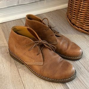 Roots Leather Chukka Boots